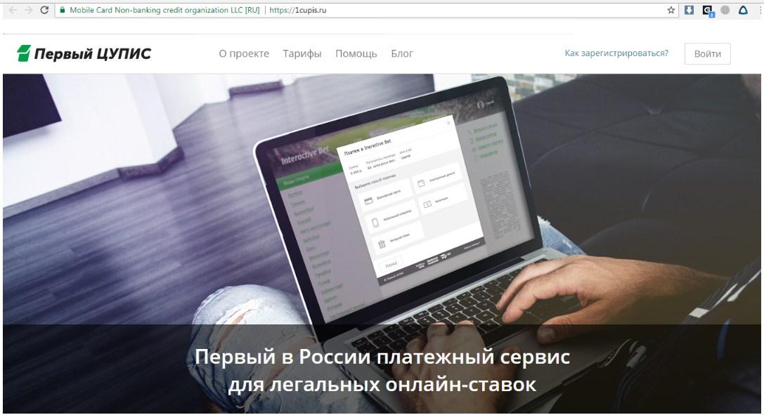 Официальный сайт ЦУПИС