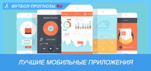 Лучшие мобильные приложения для ставок на спорт